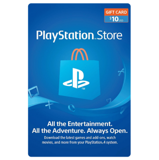 Playstation Network $10.00 Card (US) US Region