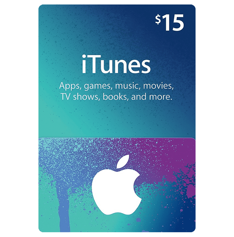 ITunes Gift Card 15$ (US)