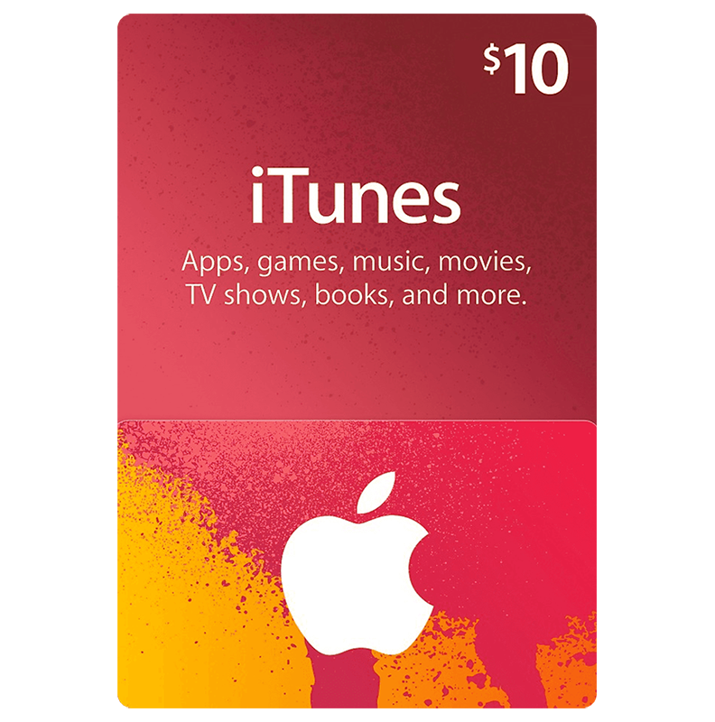 ITunes Gift Card 10$ (US)