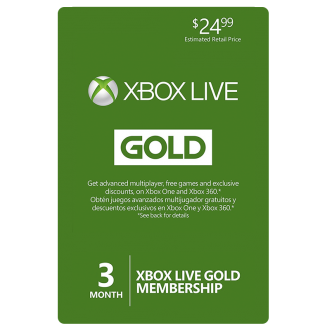 Xbox 360 Live 3 Month Gold Membership