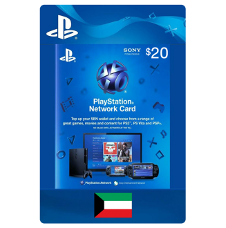 Playstation Network $20.00 Card (US) US Region