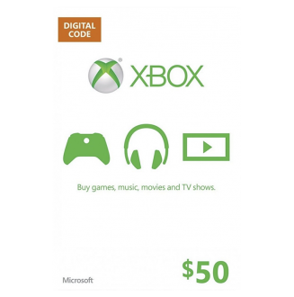 XBOX $50 Gift Card