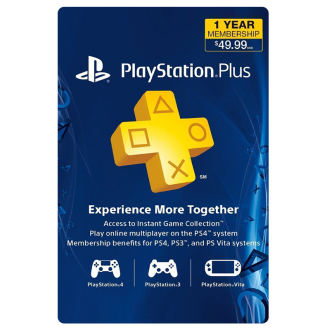 PlayStation Plus Membership (US) - 1 Year