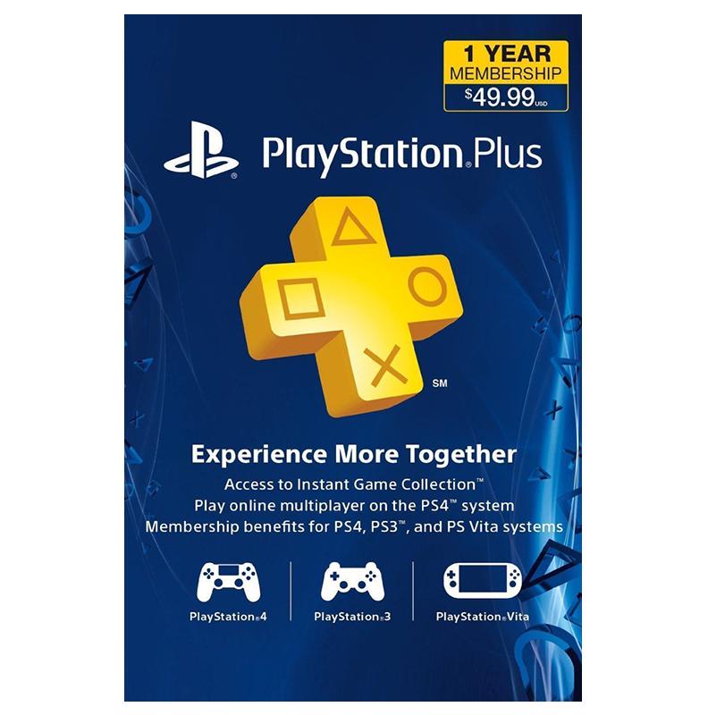 PlayStation Plus Membership (US) - 1 Year