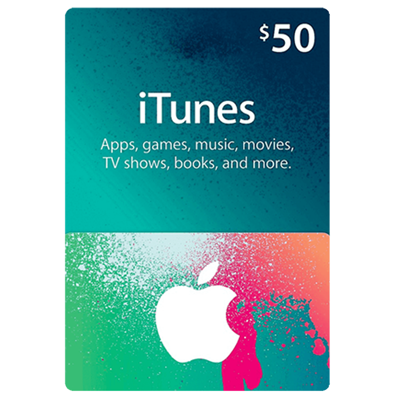 iTunes Gift Card 50$ (US)
