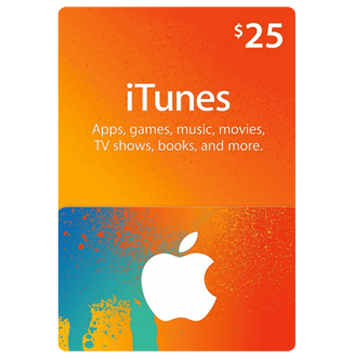iTunes Gift Card 25$ (US)