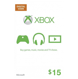XBOX $15 Gift Card