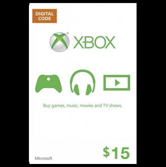 XBOX $15 Gift Card
